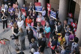 panel sends transgender bathroom bill to texas senate for a vote