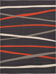 Grey And Orange Rug Dark Gray 9 U0027 10 X 13 U0027 Frieze Rug Area Rugs Esalerugs