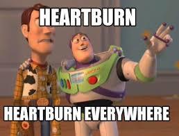 Heartburn Meme - beautybeyondsize life in lists