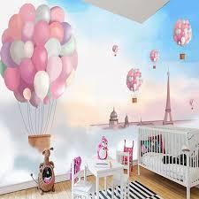 Aliexpresscom  Buy Custom D Poster Wallpaper Cartoon Children - Girls bedroom wall murals