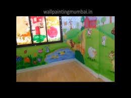 theme wall play and preschool theme wall painting undertaken mumbai