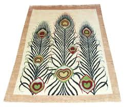 beautiful pattern floor beautiful pattern peacock rug for unique interior rugs