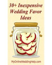 affordable wedding favors 30 inexpensive wedding favor ideas my online wedding help