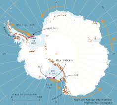 Antartica Map An Iceberg The Size Of Jamaica U2014 Australian Antarctic Division