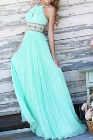 light blue halter maxi dress elegant halter print spliced backless hollow out sage maxi dress for