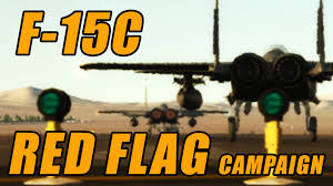 The Red Flag Campaign F 15c Red Flag Campaign Trailer Youtube
