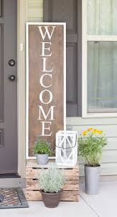 Outside Entryway Decor 32 Pretty Spring Porch Decor Ideas To Celebrate The Season