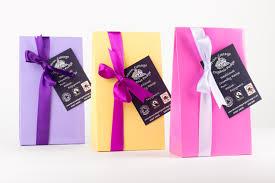 fudge gift boxes personalised gift box cottage organic fudge