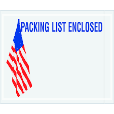packing list envelopes wholesale pricing freund container u0026 supply