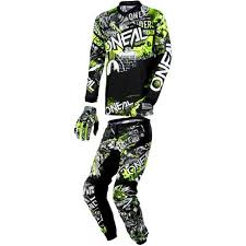 motocross pants and jersey combo o neal 2018 element combo attack motosport