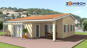 one house designs bungalow house plans one floor plan simple small modern design