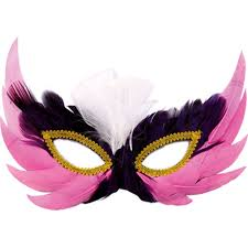 mask party pink black and golden party masks trendy mods