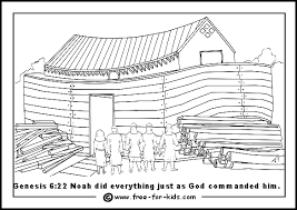 flood coloring pages noah u0027s ark colouring pictures