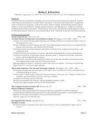 Proper Format For Resume Resume Text Format