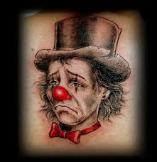 9 laughing and creepy clown tattoo designs styles at life