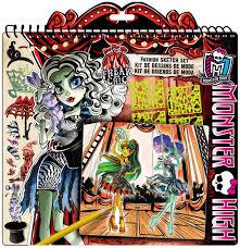 monster high monster fashion sketch portfolio toys u0026 games
