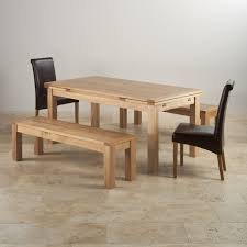 dorset dining set in oak dining table 2 benches u0026 2 chairs