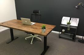 Stand Or Sit Desk by Iron Age Office Iao Sit Stand Desk