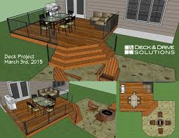 Corner Deck Stairs Design Simple Cedar Deck With Corner Stairs For Patio Expansion Des