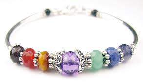 Handcrafted Handmade Semiprecious Gemstone Beaded Handmade Gemstone Bangle Chakra Bracelets