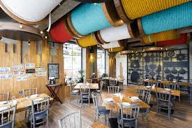 Interior Designs For Restaurants by Restaurants With Striking Ceiling Designs