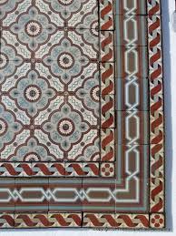 m2 to sq ft 13 25m2 140 sq ft antique french triple border ceramic floor c