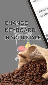 themes java love custom keyboard coffee color wallpaper themes in love a cup cafe