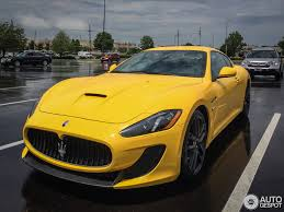 maserati yellow maserati granturismo mc stradale 2013 25 december 2014 autogespot