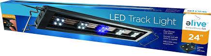 national geographic aquarium light amazon com elive track light led aquarium fish tank hood