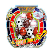 sports easter eggs sports easter eggs w smarties 12 count