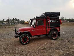 mahindra thar custom mahindra thar side by the transporter indian autos blog