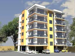 Apartment Building Blueprints by Colorful Apartment Exteriors Google Search Apartment