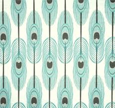 Designer Home Decor Fabric by Boho Cottage Style Aqua Blue Fabric By The Yard Designer