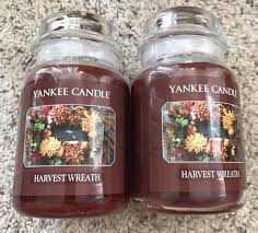 yankee candle harvest wreath 22 oz candles ship ebay