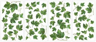 evergreen ivy removable wall decals wall2wall