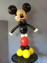 mickey mouse balloon arrangements balloon decorations for themes and licensed characters northwest