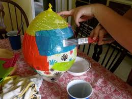 How To Make A Balloon Chandelier How To Create A Paper Lantern And Explore By Night With Your Kids