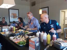 community leaders face off in burger battle who won williamson