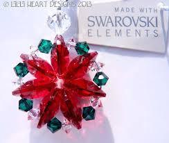 97 best lilli heart designs swarovski crystal christmas ornament