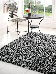 rug black and white shag rug nbacanotte u0027s rugs ideas