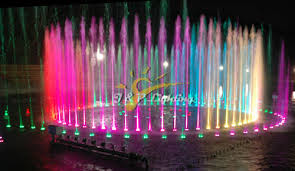 Submersible Pond Lights 27w Tricolor Led Fountain Lights Multicolor Fountain Light Jp 94196