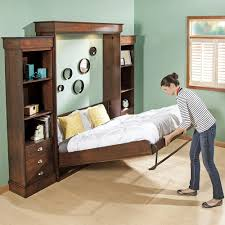 Save Space Bed Save Space With Murphy Bed Horizontal Queen U2014 Room Decors And Design