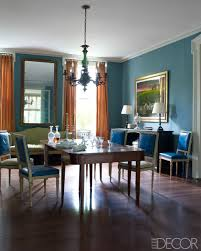 Colors For Dining Room Walls Affair Of The Heart Elle Decor Interiors And Walls