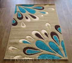 Designer Area Rugs Modern Teal And Brown Area Rugs Rug Designs Pertaining To Contemporary 6