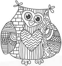 draw free owl coloring pages 14 in free coloring kids with free
