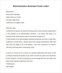 free cover letter office assistant
