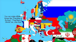 World Map With Flags How To Make A Flag Map Youtube