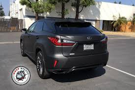 lexus corporate torrance ca lexus rx matte black auto wrap wrap bullys