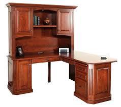 wood computer desk with hutch cherry corner computer desk eatsafeco wood computer desk cherry