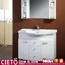 wall mounted black bathroom vanity cabinet modern with double